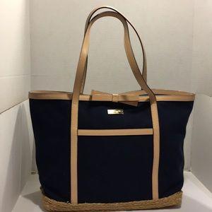 GentlyUsed Kate Spade Fabric Large Tote Handbag